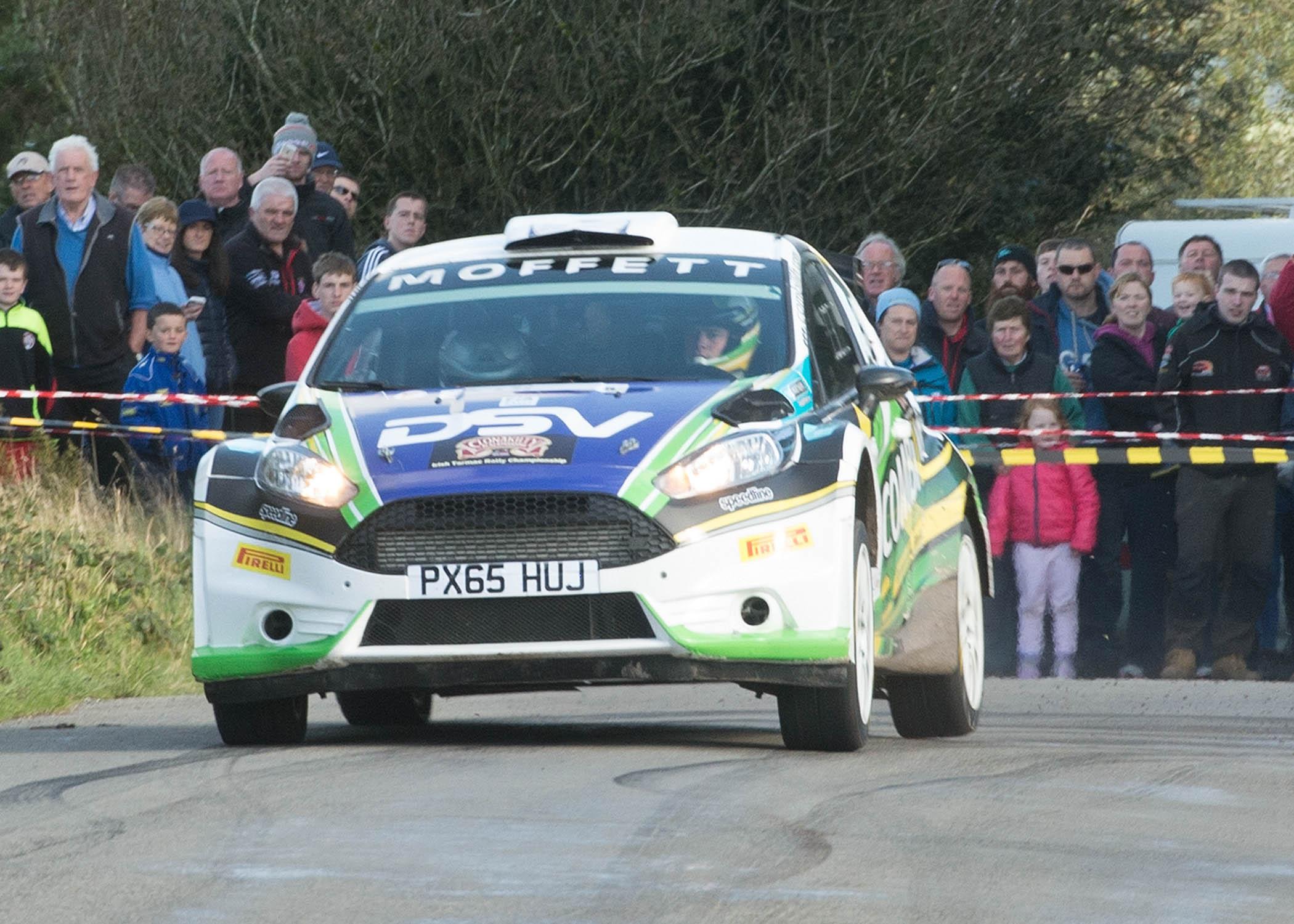 Josh Moffett/Jason McKenna (Ford Fiesta R5). Photo: Martin Walsh.